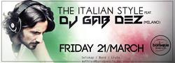 #TheItalianStyle_party