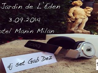 Le Jardin de l'Eden| Hotel Manin Milan