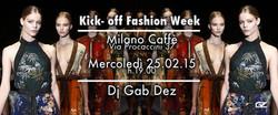 Kick-off Fashion Week