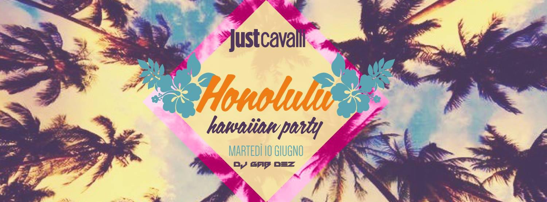 Justcavalli.Hawaiian party