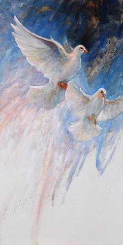 Season of Peace 36x18
