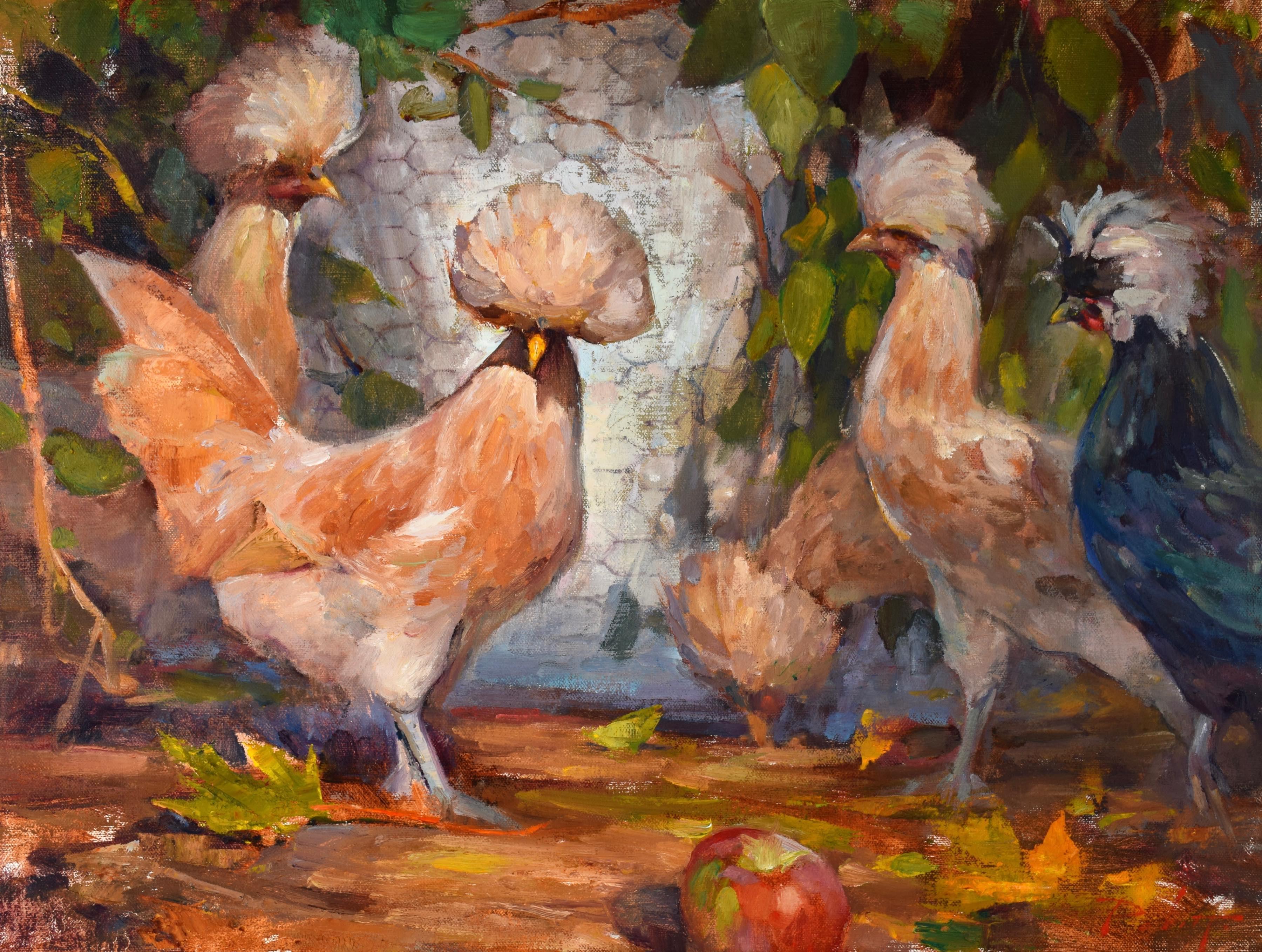 Pompous Poultry 18x24
