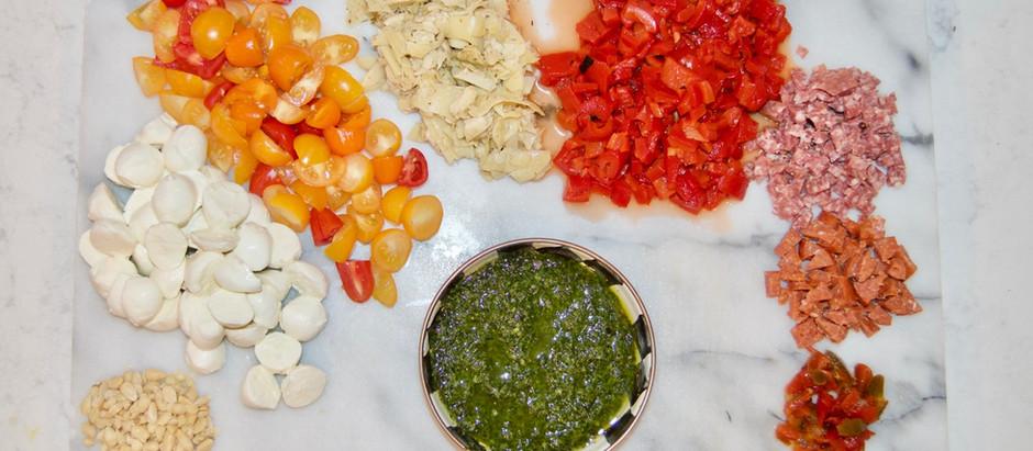 Tortellini Chopped Salad