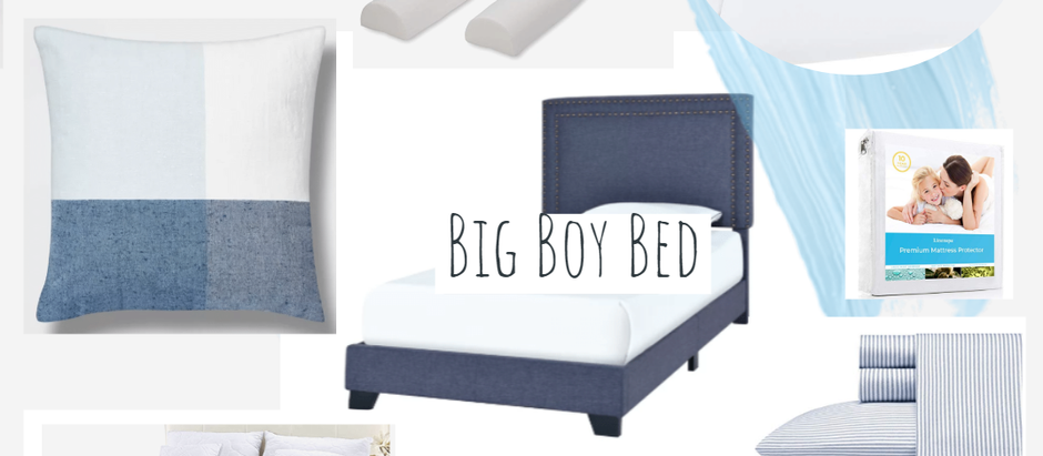 Big Boy Bed at Age 2