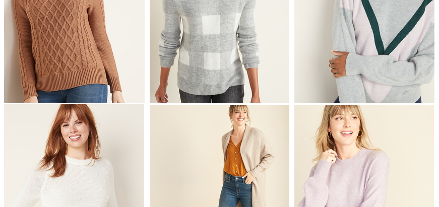Classic Knits: at a Price You Won't Sweat(er)