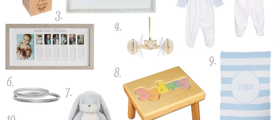 Keepsake Baby Gift Guide