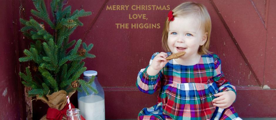 DIY Christmas Card Photoshoot