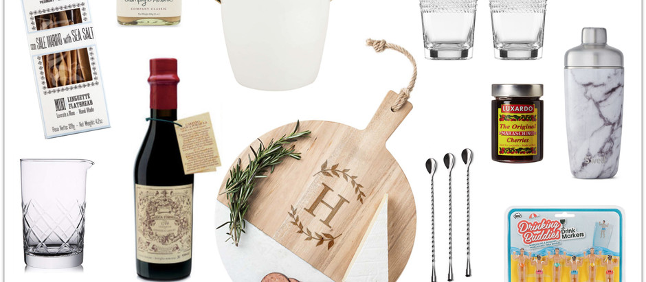 Gift Guide for the Cocktail Hour Enthusiast