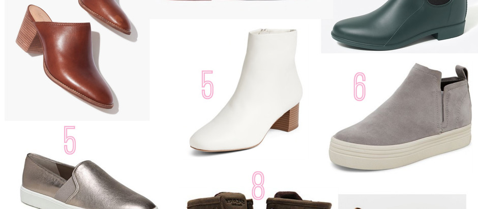 Fall Shoe Round up