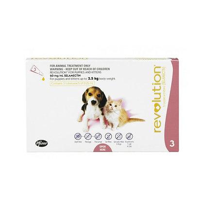 Revolution for Puppies & Kittens 0-2.5kg