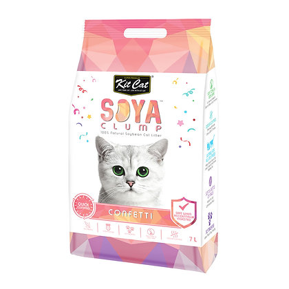 Kit Cat Soya Clump -7L Cat Litter