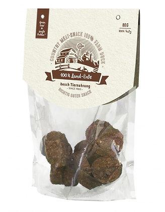 Bosch Country Meat Snack - 100% Farm Duck Grain Free Dog Treats 80g
