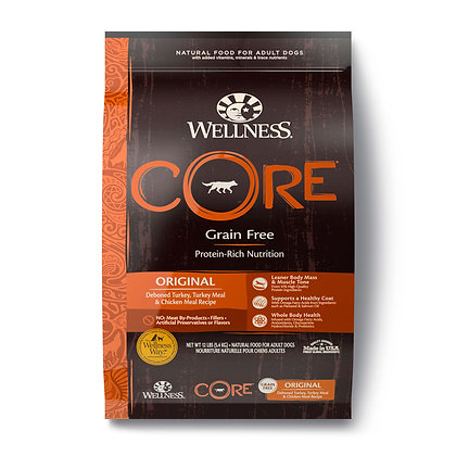 Donate to SOSD: Wellness CORE Grain-Free Original Dry Dog Food (24lb)
