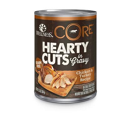 Wellness CORE Hearty Cuts Chicken & Turkey Wet Dog Food 12.5oz