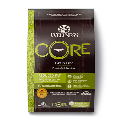 Wellness CORE Grain-Free Reduced Fat Dry Dog Food