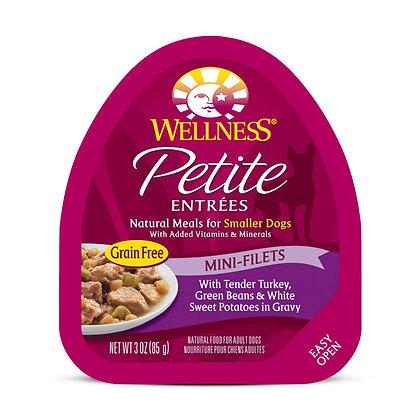 Wellness Petite Entrees Mini-Filets Tender Turkey w Gravy 3oz