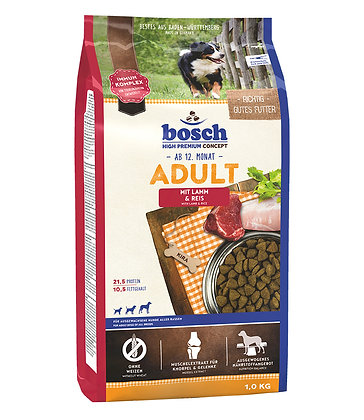 Bosch High Premium Adult Lamb & Rice Dry Dog Food with Fresh Poultry