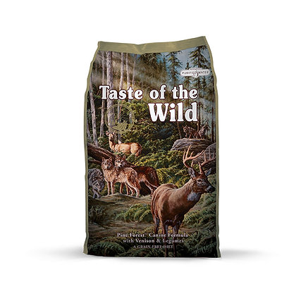 Donate to BFF: Taste of the Wild Pine Forest Venison Dry Dog Food (12.2kg)