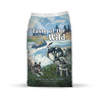 Taste of the Wild Pacific Stream Puppy Smoked Salmon Dry Dog Food
