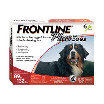 Donate to SOSD: Frontline Plus for Extra Large Dogs 40-60kg (6 pack)