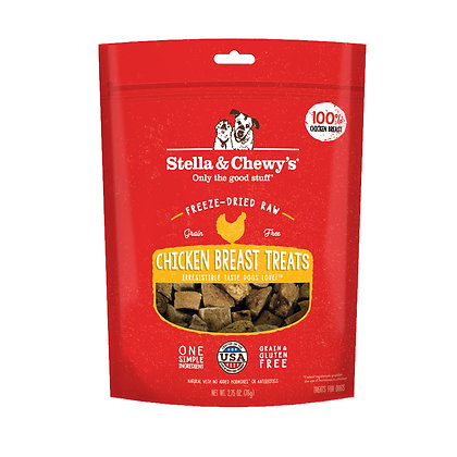 Stella & Chewy's Single Ingredient Chicken Breast Dog Treats 2.75oz