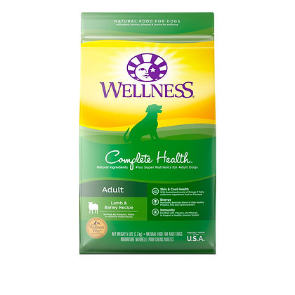 Wellness Complete Health Lamb, Barley & Salmon Dry Dog Food