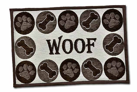 Loving Pets Bella Fashion Dog Mat - Woof