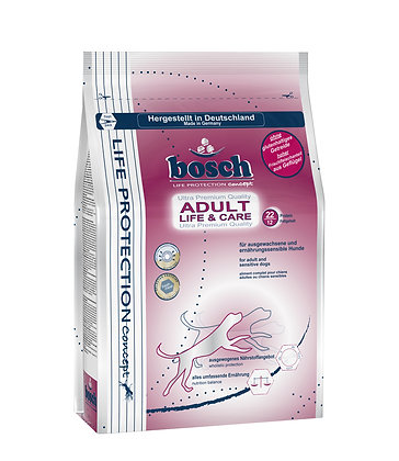 Bosch Life Protection Adult Life & Care Dry Dog Food 3.75kg