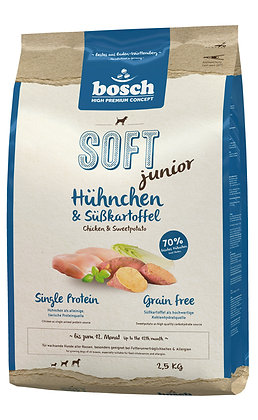 Bosch High Premium Soft+ Junior Chicken & Sweet Potato Dry Dog Food