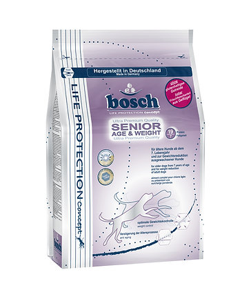 Bosch Life Protection Senior Age & Weight Dry Dog Food 3.25kg