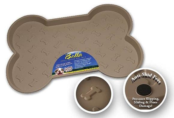 Loving Pets Bella Spill-Proof Mat - Tan