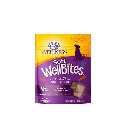 Wellness WellBites Chicken & Venison Treats 6oz