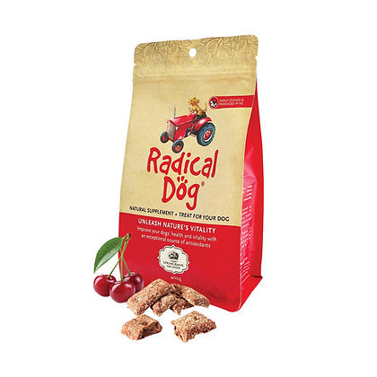 Radical Dog Treats (all-natural 3-in-1 Superfood for dogs)