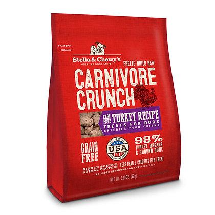 Stella & Chewy's Carnivore Crunch - Turkey 3.25oz