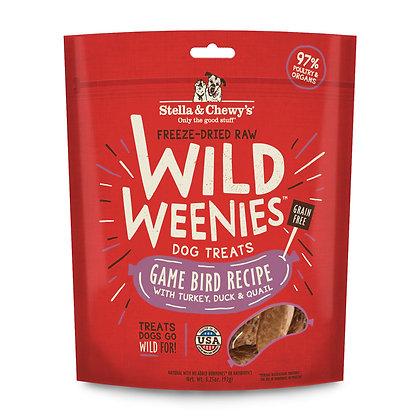 Stella & Chewy's Wild Weenies Game Bird Dog Treats 3.25oz