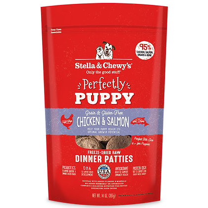 Stella & Chewy's Dinner Patties - Chicken & Salmon Puppy 14oz