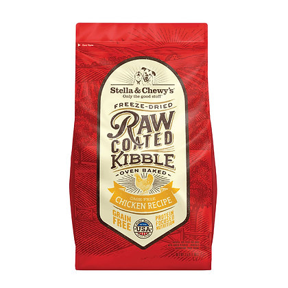 Stella & Chewy's Raw Coated Kibble - Chicken