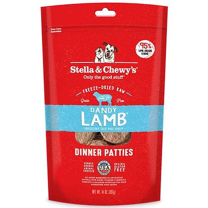 Stella & Chewy's Dinner Patties - Dandy Lamb