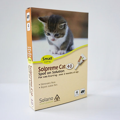 Solano Solpreme Cat Spot On Small
