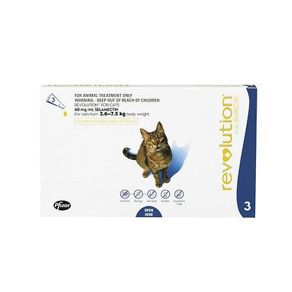 Revolution for Cats 2.6-7.5kg