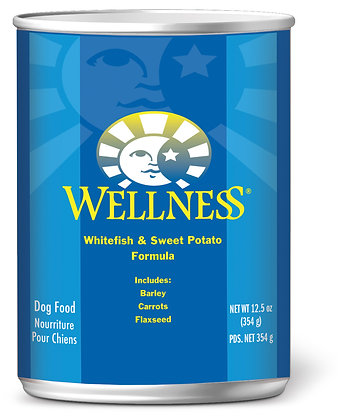 Wellness Complete Health Whitefish & Sweet Potato Wet Dog Food 12.5oz