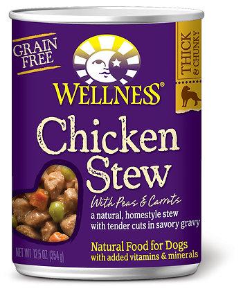 Wellness Stews Chicken Grain-Free Wet Dog Food 12.5oz
