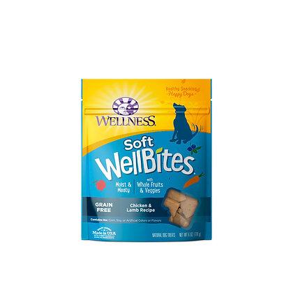 Wellness WellBites Chicken & Lamb Treats 6oz