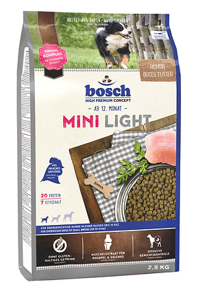 Bosch High Premium Mini Light Adult Dry Food Gluten Free w Fresh Poultry 2.5kg