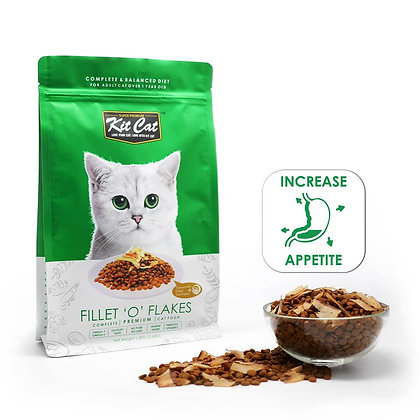 "Kit Cat Dry Food Filet ""O"" Flakes (Increase Appetite)"