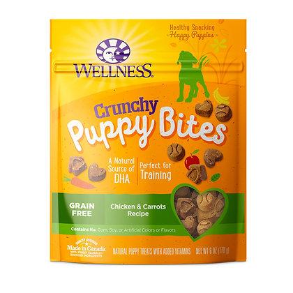 Wellness WellBites Puppy Bites - Crunchy Chicken & Carrots Treats 6oz