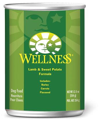 Wellness Complete Health Lamb & Sweet Potato Wet Dog Food 12.5oz