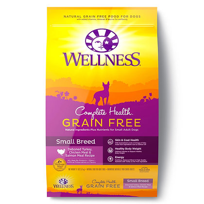 Wellness Complete Health Grain-Free Small Breed Dry Dog Food