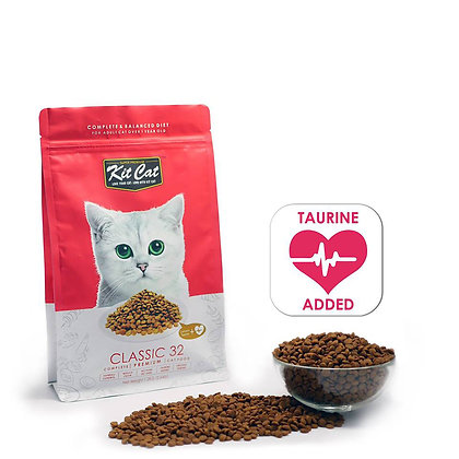 Kit Cat Dry Food Classic 32 (Taurine Added)