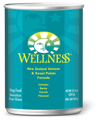 Wellness Complete Health NZ Venison & Sweet Potato Wet Dog Food 12.5oz